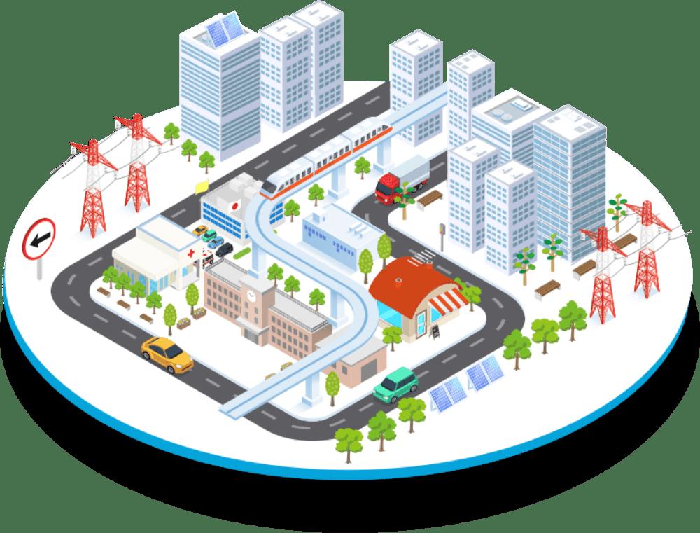 NTTデータが考えるスマートシティ